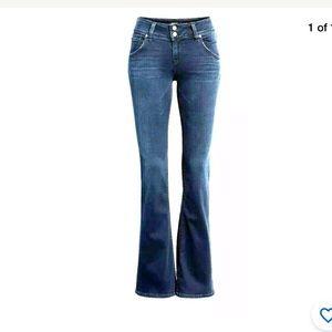 Hudson Womens Sz 28 Bootcut Jeans Dark Wash Denim
